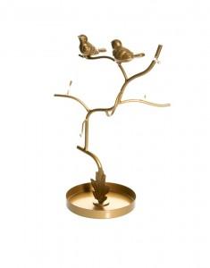 Un porte bijoux pour bijoux en or