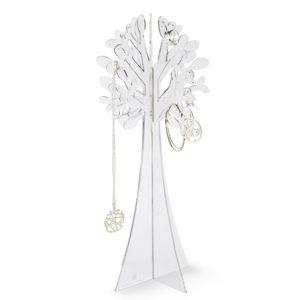 Un arbre à bijoux déco transparent