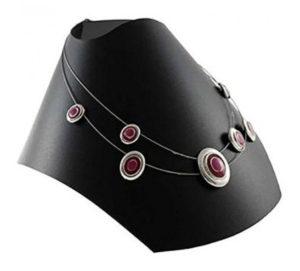 Bustes porte bijoux pliants (lot de 10)