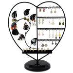 Porte bijoux en forme de coeur